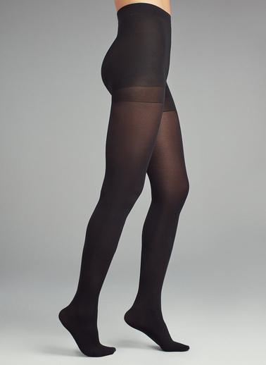 Penti Opak Korseli Külotlu Çorap Siyah